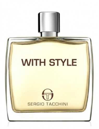 TESTER SERGIO TACCHINI WITH STYLE UOMO EDT 100ML NO TAPPO