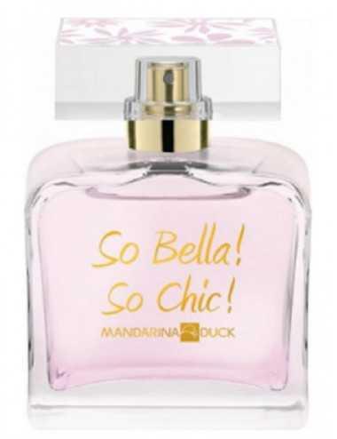 Tester Mandarina Duck So Bella So Chic Edt 100Ml Con Tappo