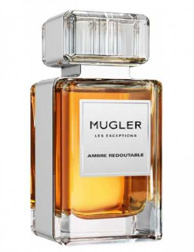 TESTER THIERRY MUGLER LES EXCEPTIONS AMBRE REDOUTAB EDP 80ML CON TAPPO