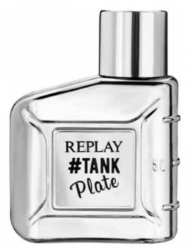 TESTER REPLAY TANK PLATE FOR HIM EDT 100ML CON TAPPO