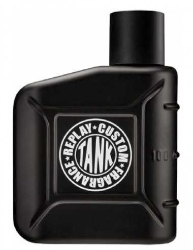 TESTER REPLAY TANK CUSTOM FOR HIM EDT 100ML CON TAPPO
