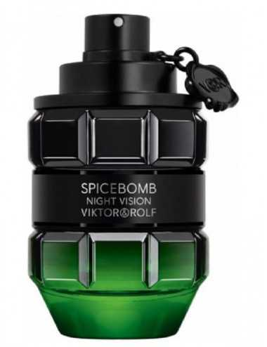 TESTER VIKTOR&ROLF SPICEBOMB NIGHT VISION HOMME EDT 90ML CON TAPPO