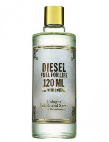 TESTER DIESEL FUEL FOR LIFE HOMME COLOGNE 120 ML CON TAPPO
