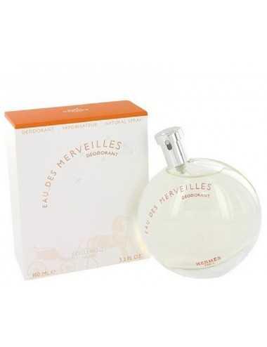 Hermes Eau Des Merveilles Deodorante Spray 100Ml