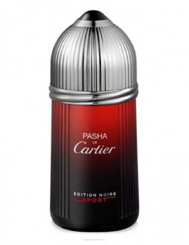 TESTER CARTIER PASHA EDITION NOIRE SPORT EDT 100ML NO TAPPO