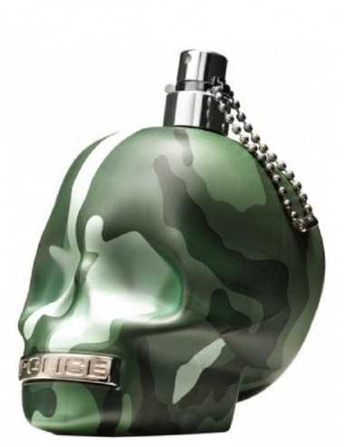 TESTER POLICE TO BE CAMOUFLAGE EDT 125ML NO TAPPO