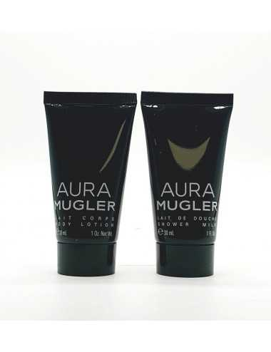 THIERRY MUGLER AURA KIT BODY LOTION 30ML+BAGNO DOCCIA 30ML