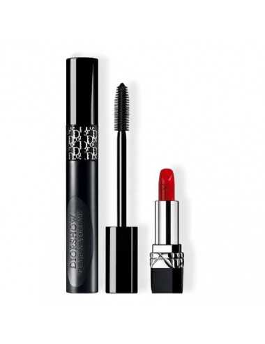 DIOR SHOW PUMP 'N' VOLUME HD MASCARA + ROSSETTO