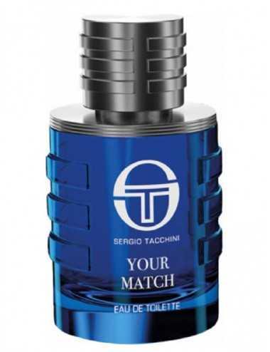 Tester Sergio Tacchini Your Match Uomo Edt 100Ml No Tappo