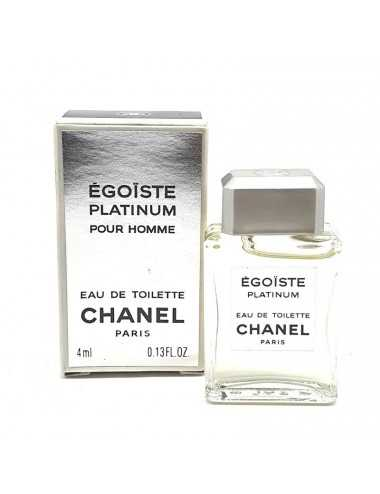 CHANEL EGOISTE PLATINUM MINIATURA EDT 4ML
