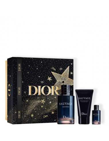 Dior Sauvage Cofanetto Edp 100Ml + Edp 10Ml + After Shave Balm 50Ml