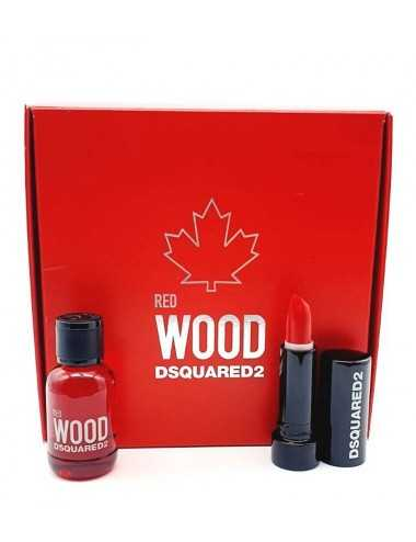 DSQUARED RED WOOD MINIATURA RED LIPSTICK 1.2G + EDT 5ML