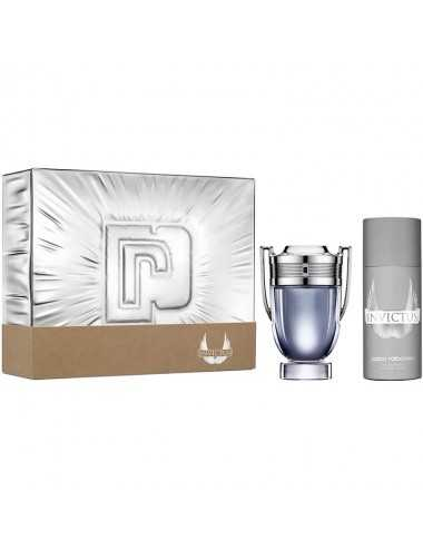 PACO RABANNE INVICTUS COFFRET 100ML + DEODORANT NATURAL SPRAY 150ML