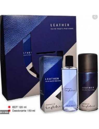 Byblos Leather Set Regalo Edt 120Ml + Deodorante 150Ml