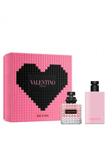 VALENTINO DONNA BORN IN ROMA EDP 50ML + CREMA CORPO 100ML