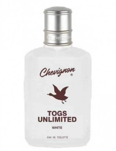 TESTER CHEVIGNON TOGS UNLIMITED WHITE EDT 100ML