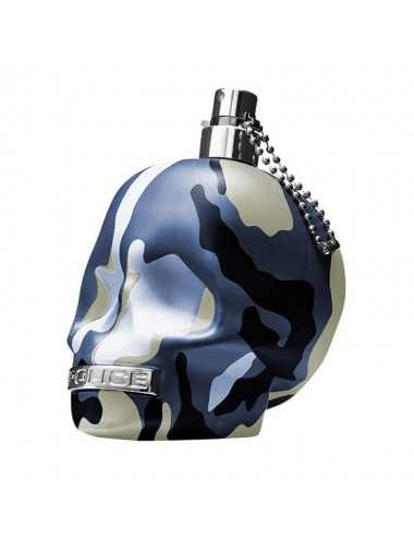 Tester Police To Be Camouflage Blue Edt 75Ml No Tappo