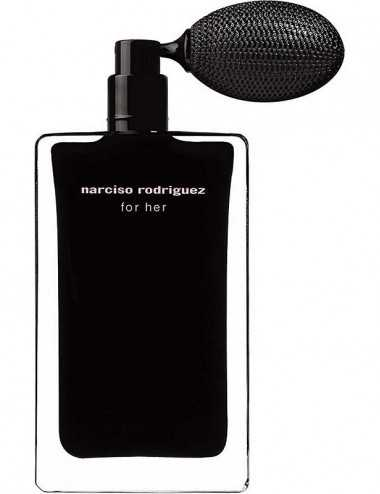 NARCISO RODRIGUEZ FOR HER EDT 75ML LIMITED EDITION WHITH ATOMIZER