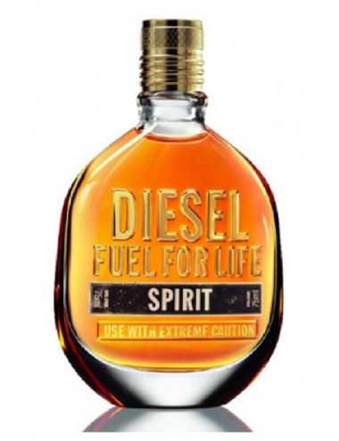 Tester Diesel Fuel For Life Spirit Homme Edt 75Ml Con Tappo