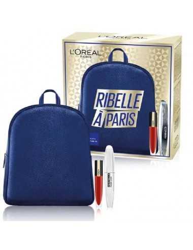 L Oreal Coffret Mascara Ali Di Farfalla 7Ml+Rouge Signature 7Ml+ Zaino