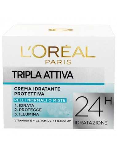 L Oreal Crema Idratante Protettiva Normali O Miste 50Ml