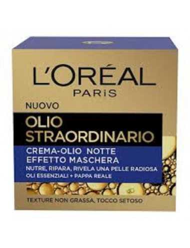 L Oreal Olio Straordinario Crema Maschera Nutritiva Notte 50Ml