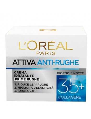 L Oreal Crema Idratante Prime Rughe 50Ml