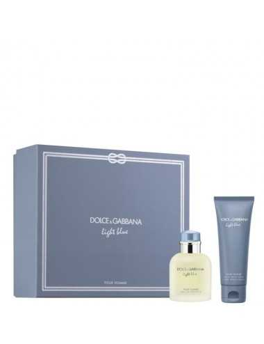 Dolce E Gabbana Light Blue Pour Homme Edt 75Ml+ Dopo Barba 75Ml