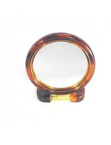 Specchio Con Base Pieghevole Diametro 18 Cm