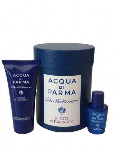 Acqua Di Parma Blu M.Mirto Di Panarea Kit Edt 5Ml + Gel Doccia 20 Ml