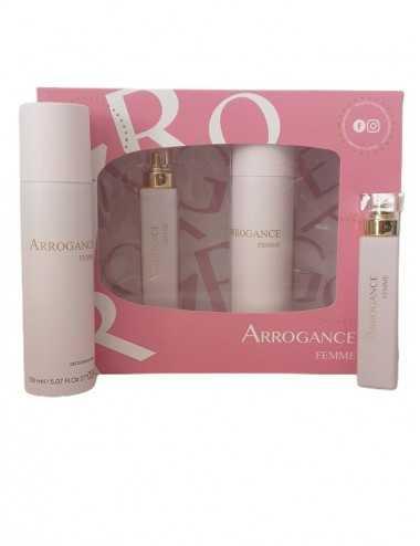 Arrogance Femme Set  Edt 30Ml + Deodorante Spray 150Ml