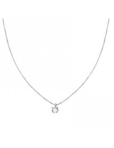 Collana Catena Veneziana Diamantata Con Punto Luce Mm 3 In Argento 925