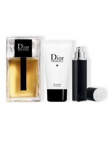 Dior Homme Cofanetto Edt 100Ml + Travel Spray 10Ml + Shower Gel 50Ml