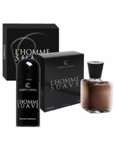 Capucci L'Homme Suave Edt 100Ml+Deodorante 150Ml (Tipo Dior Sauvage)