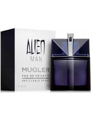 Thierry Mugler Alien Man Edt 50Ml Ricaricabile