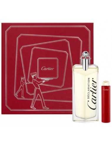 Cartier Declaration Coffret Edt 100Ml + Edt Travel 15 Ml