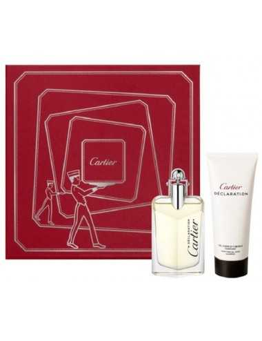 Cartier Declaration Coffret Edt 50Ml + Tonifying Shower Gel 100 Ml