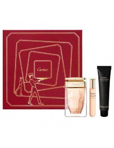 Cartier La Panthere Coffret Edp 75Ml + Hand Cream 40Ml + Edp 15Ml