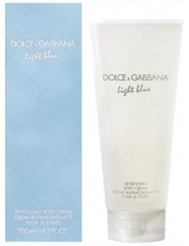 Dolce E Gabbana Light Blue Donna Crema Corpo 200Ml